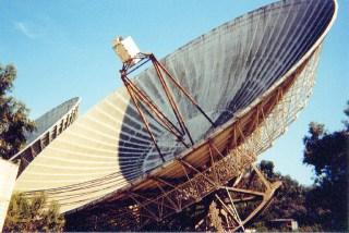 part of the bracewell radio telescope